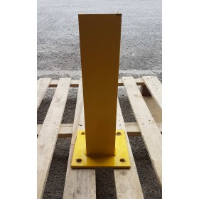 POTELET DE PROTECTION SIMPLE  EN U  450MM JAUNE OCCASION