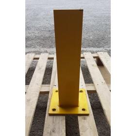 POTELET DE PROTECTION SIMPLE  EN U  450MM JAUNE OCCASION