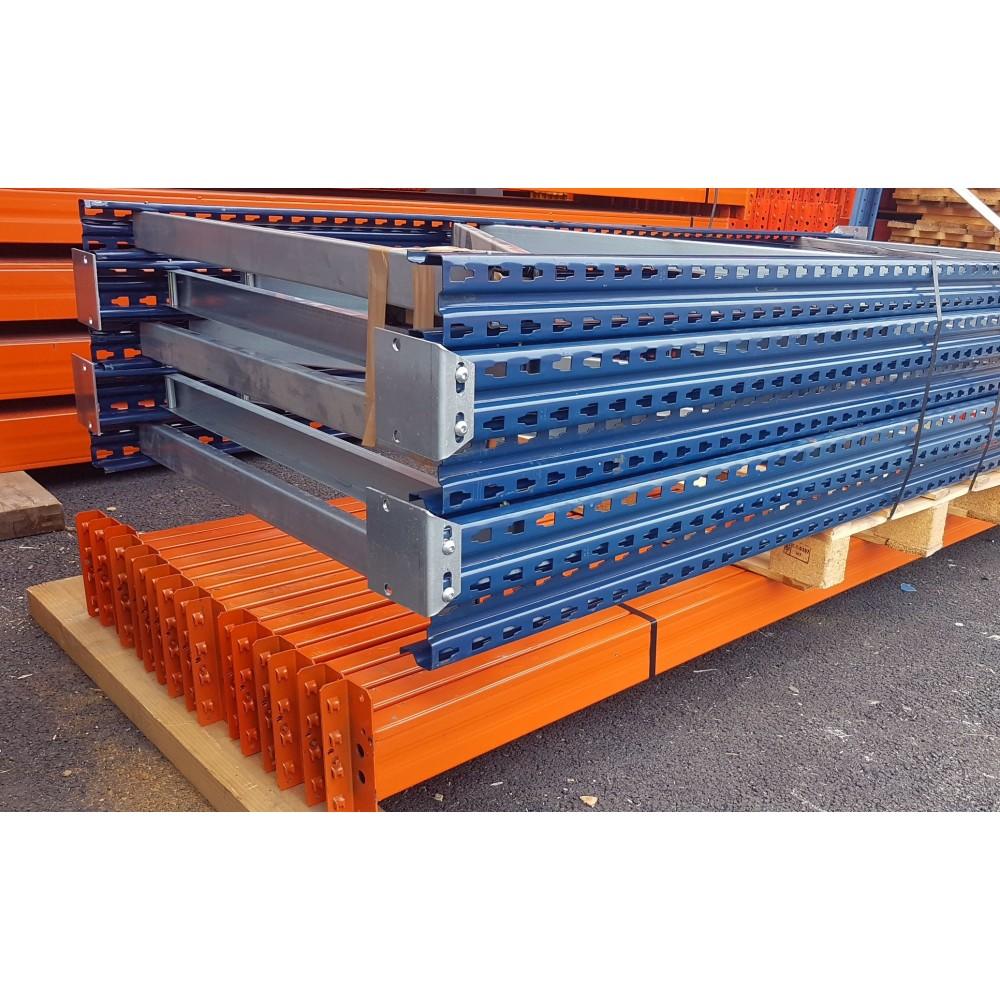 Rayonnage à palettes occasion - 5 Echelles de 3000 X 1100 mm