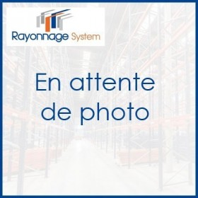 Grillage antichute pour rayonnage a palettes