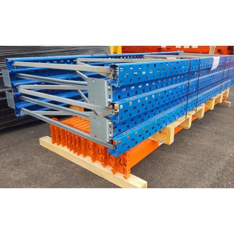 Rayonnage  occasion - 8 échelles de 4000 X 1100 mm