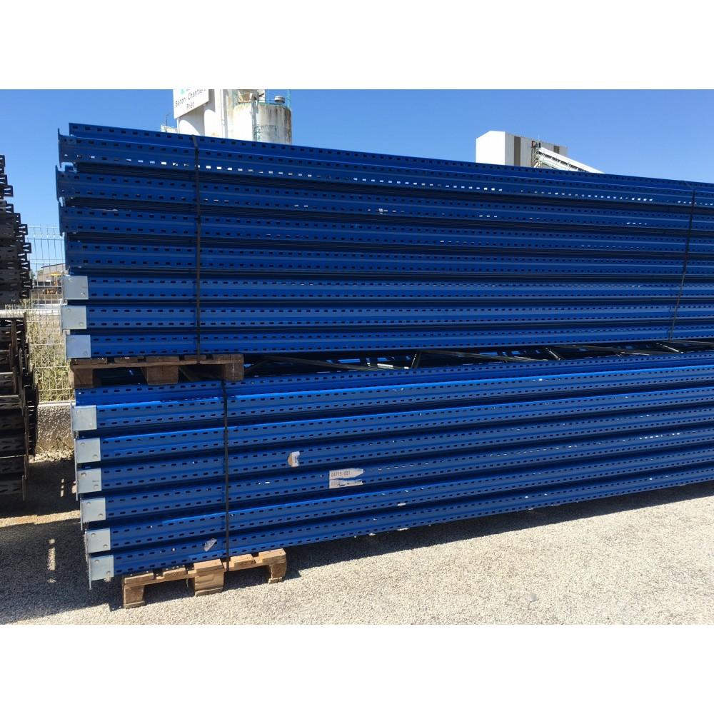 Rayonnage à palettes d'occasion - 10 Echelles de 8500 X 1100 mm