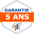 Rayonnages Garantie 5ans