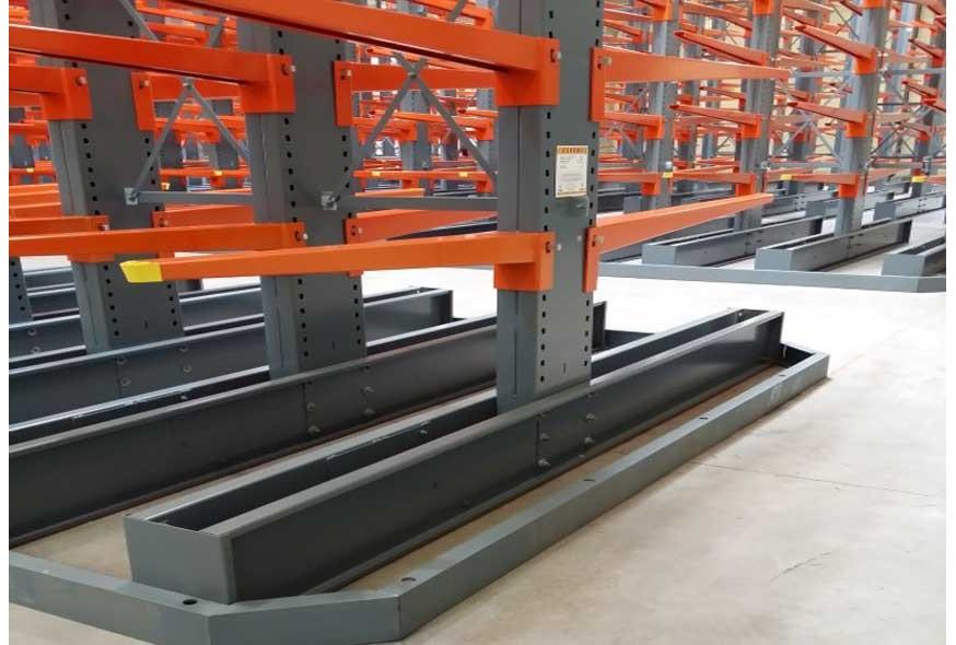 Comment mesurer la capacité d'un rack cantilever ?